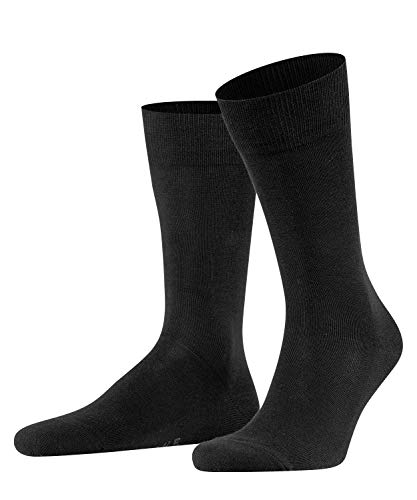 FALKE Herren Family M SO- 14645 Socken, Schwarz (Black 3000), 43-46 (UK 8.5-11 Ι US 9.5-12)