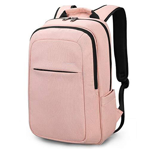 Backpack Rucksack Laptop Bag Women Fashion 15.6Inch Usb Recharging Men Backpacks Anti Theft Girl Rucksack Laptop Backpack Schoolbag For Teens 3090Bpink