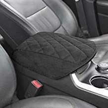 KMMOTORS Automotive Customized Console Armrest Cushion Only for Ford Explorer SUVs 2011-2018 (Suede)