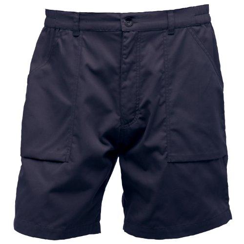 Regatta - Pantalones cortos de vestir/Trekking Modelo New Action hombre caballero - Verano/Playa/Rio (44 - cintura 112cm/Azul marino)