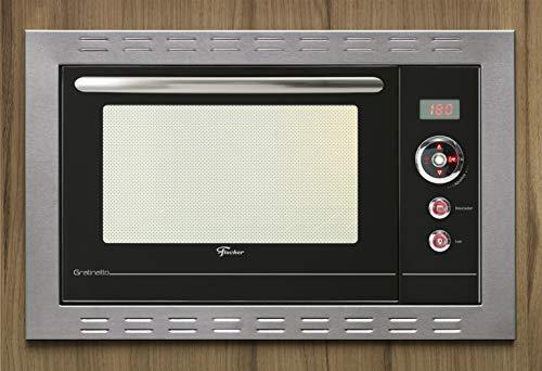 Forno Elétrico Fischer Gratinatto Embutir 44L New Inox 220V