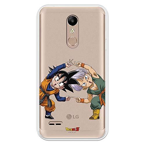 Funda para LG K11 - K10 2018 Oficial de Dragon Ball Goten y Trunks Fusión para Proteger tu móvil. Carcasa para LG de Silicona Flexible con Licencia Oficial de Dragon Ball.