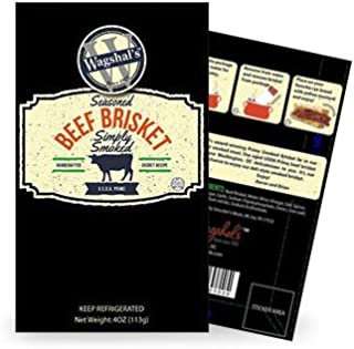 Wagshal's USDA Prime Smoked Brisket (4 ounce)