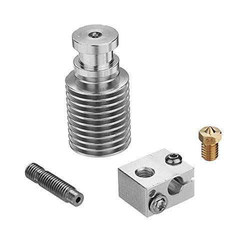 GESSIE DL01 V6 Alloy Short-Range Extruder Head DIY Part For 3D Printer 1.75mm Filament 0.4mm Nozzle CH0405