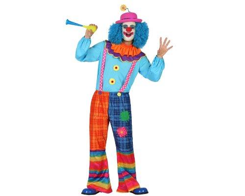 Atosa - 22959 - Costume - Déguisement De Clown Homme - Adulte - Taille 2