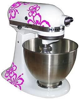 Grafix Adhesivo Decorativo para Robot de Cocina KitchenAid, 2 Unidades, diseño de Hibisco, Vinilo, Color Rosa: Amazon.es: Hogar