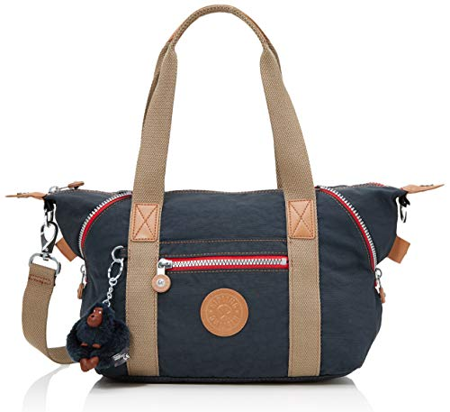 Kipling Damen Art Mini Henkeltasche, Blau (True Navy C), 34x21x18.5 cm