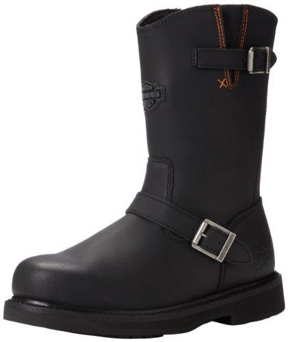 Harley-Davidson Men's Jason ST Engineer Safety Boot, Black, 11 M US