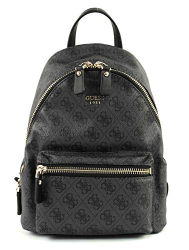 Guess ZAINO MOD. LEEZA BACKPACK DONNA ECOPELLE GRIGIO COAL B19GU76