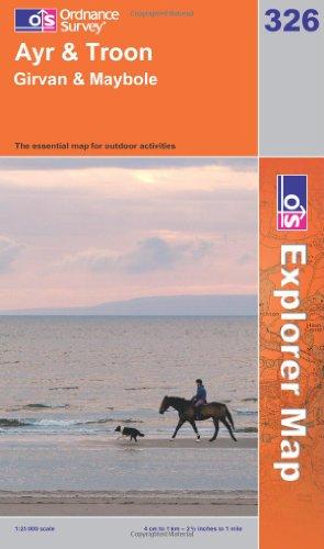 OS Explorer map 326 : Ayr & Troon