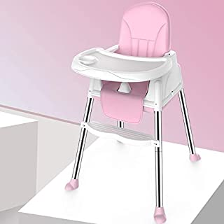 Baby High Chair, Baby Inner Multi-function Baby Dining Chair Foldable Portable Baby Chair Eating Seat Adjustable High Chai...