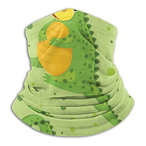 Niet van toepassing Cartoon Groene Draak Vector Afbeelding Hoofdband Gezichtsmasker Bandana Hoofd Wikkel Sjaal Nek Warmer Hoofddeksels Balaclava Voor Sport