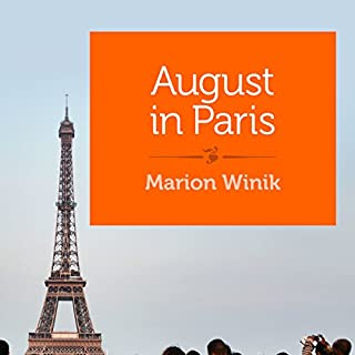 August in Paris audiobook cover art