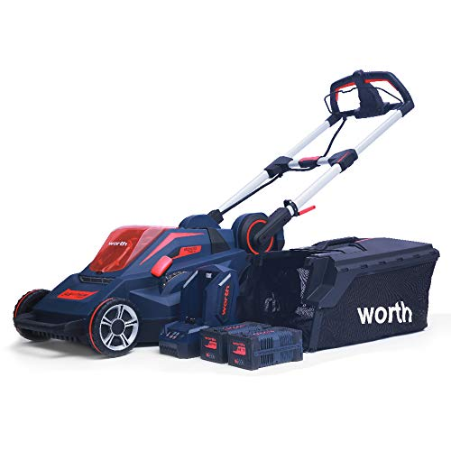Worth Most PowerMax 84V Cordless Lithium Brushless Walk...