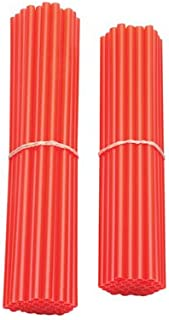Spoke Sleeves Red for Honda Shadow 750 ACE VT750C 1997-2005