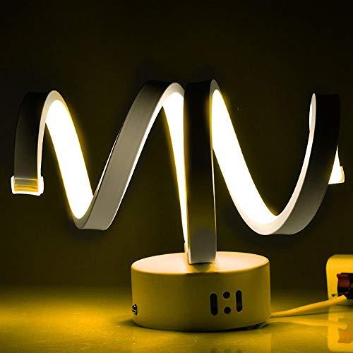 Spiraal, lamp, acryl, led, kandelaar, creatief, modern, voor slaapkamer, hal, woonkamer, slaapkamer, trappen, winkeldecoratie M B Lumière Chaude