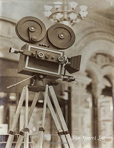 Film Genres List: Movie Journal