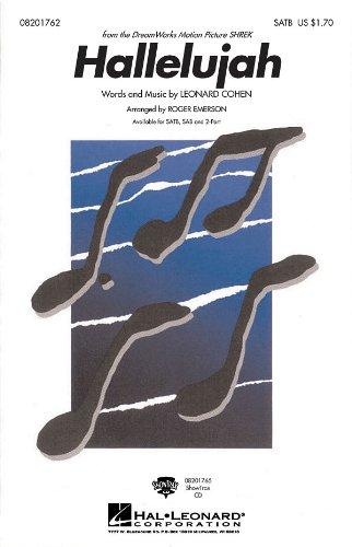 Leonard Cohen Hallelujah (SATB). Für SATB (Gemischter Chor), Klavierbegleitung