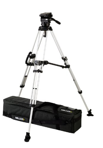 Miller 1686 Arrow 40 ENG Tripod (Black/Silver)