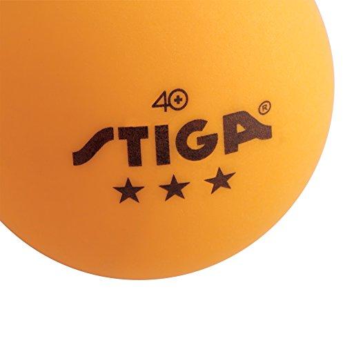 Stiga 3-Star Orange Table Tennis...
