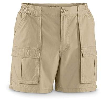 """Guide Gear Men's Wakota Shorts, 6"""" Inseam, Khaki, 36"""