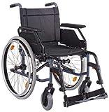 CANEO B SB45 Kombiarml.,PU anthrazit(Dietz), Handbetriebene Standard-Rollstühle -