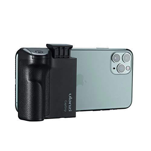 Ulanzi CapGrip 三脚マウント スマートフォン用ホルダー Bluetooth ワイヤレスリモコン付き IOS/Android対...