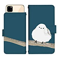 iPhone 12 スライド式 手帳型 スマホケース スマホカバー dslide669(A) 鳥 とり トリ バード エナガ アイフォントゥエルブ アイフォン12 iphone12 スマートフォン スマートホン 携帯 ケース アイフォントゥエルブ アイフォン12 iphone12 手帳 ダイアリー フリップ スマフォ カバー