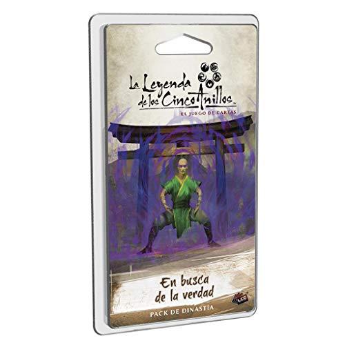 Fatansy Flight Games- Leyenda de los Cinco Anillos LCG - En Busca de la Verdad - Juego de Cartas, Color (L5C31ES)