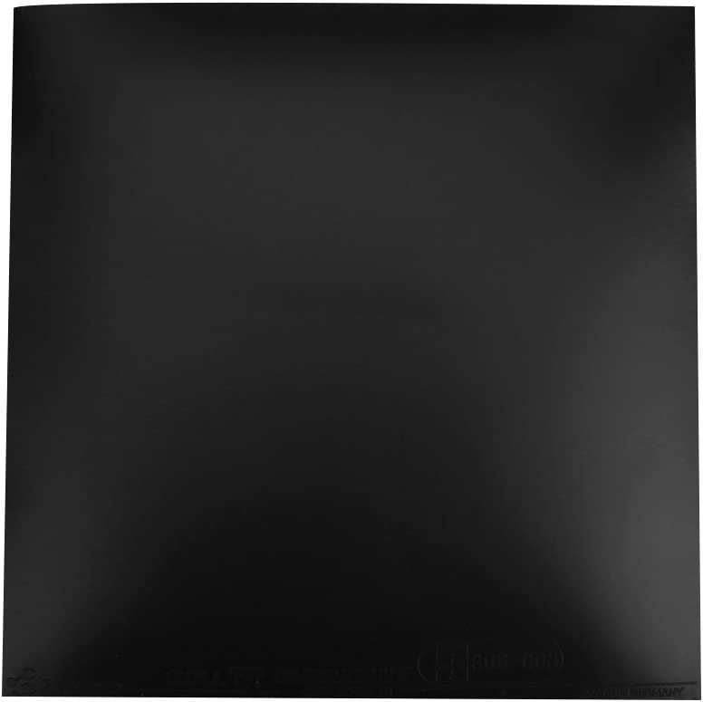 CXZC Raqueta de Ping-Pong Tenis de Mesa Goma Útil Rojo Negro Gadget Entrenamiento