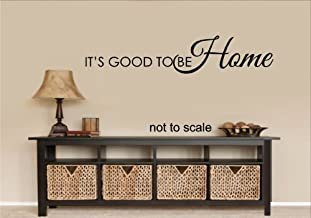 IT'S GOOD TO BE HOME WALL DECAL LETTERS STICKER HOME DECOR