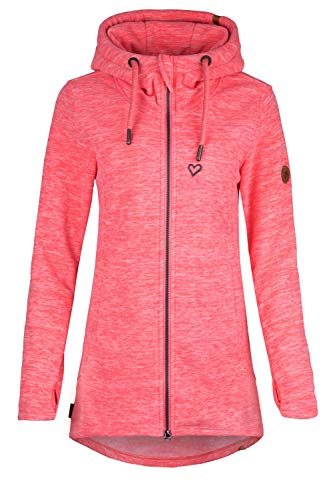 Alife and Kickin CharlotteAK F Polarfleece Damen Fleece Fleecejacke (Coral, M)