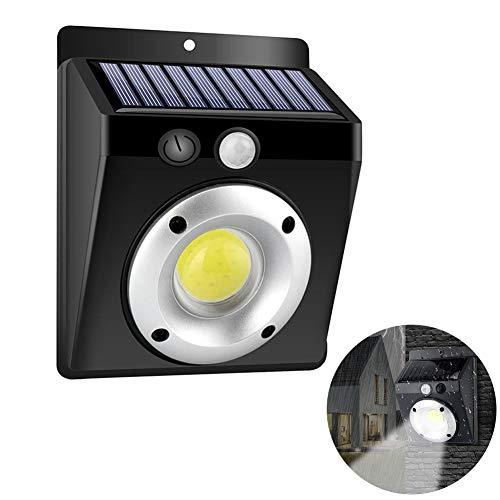 Outdoor Solar Wandleuchte, Bewegungs-Sensor-Wandleuchte, Außen Garten-Hof-Lampe wasserdichter Garten Tresor Solarwand-Lampe