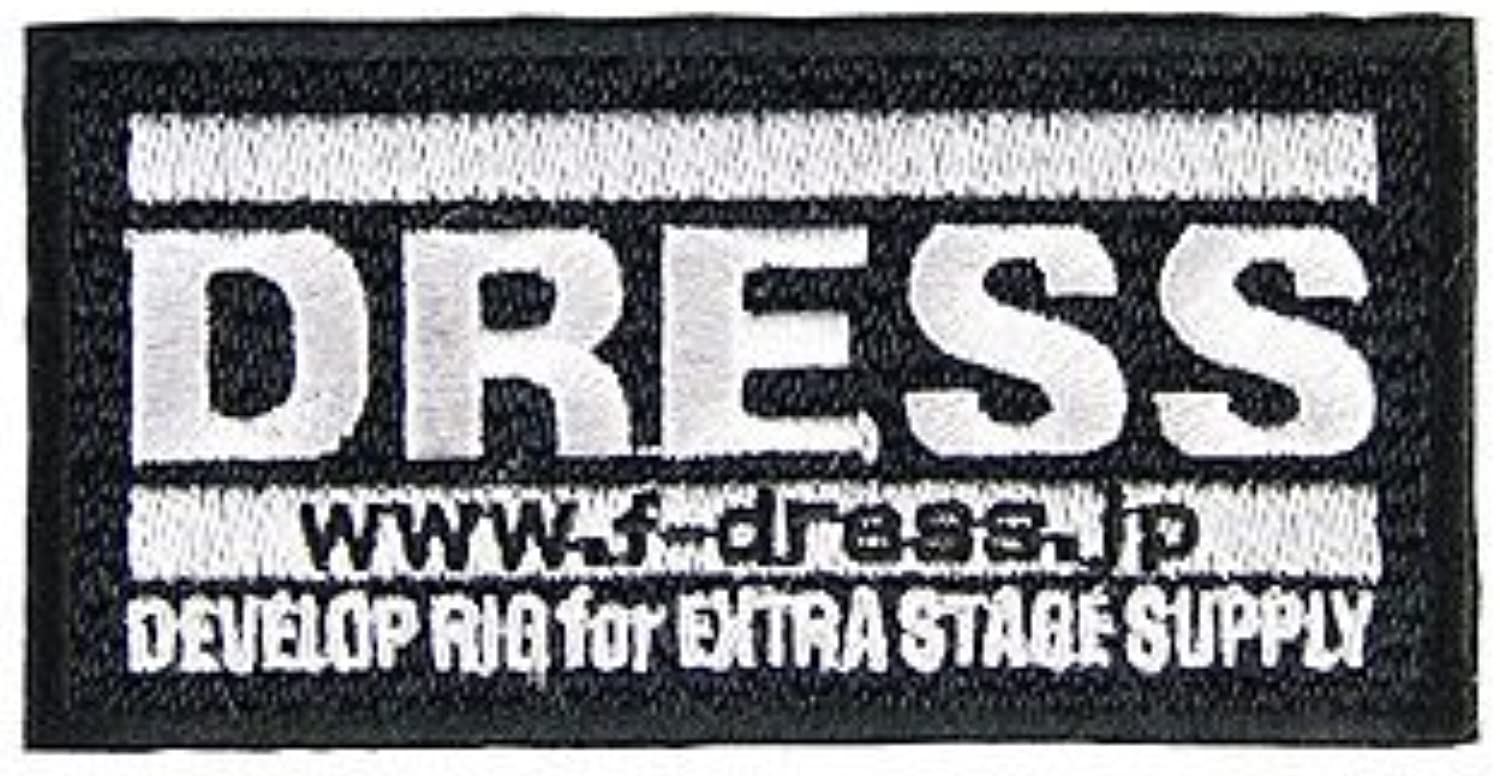 Dress (Dress) Logo Patch LD-OP-0101 Black M