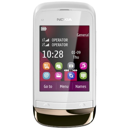Nokia C2-03 - Mobiltelefon - GSM