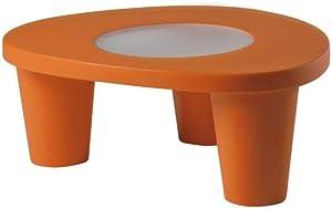 SLIDE Low Lita Table Arancione