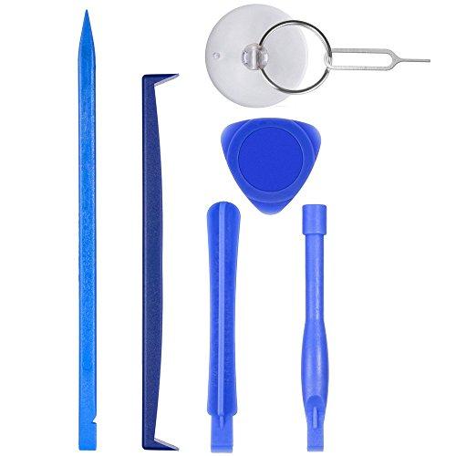 21 in 1 Profi Reparatur Werkzeug Set Tool kit für Handy und Smartphone & Multimedia oder andere Kleingeräte, Inkl. Mikrofasertuch. - 5