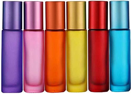 Alledomain, 6 unidades, botellas de 10 ml de aceites esenciales, vacías, con...