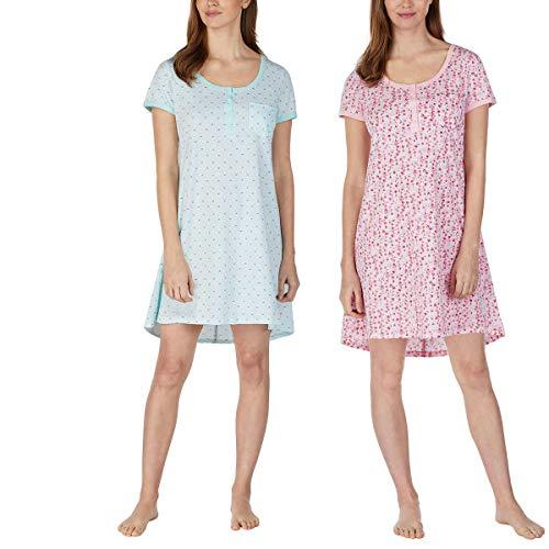 Jane and Bleecker Henley - Camisetas para mujer (2 unidades)