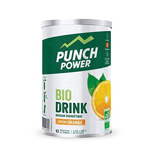 Punch POWER Marchio Francese sportivo Biodrink Bio Organic Bevanda Gusto Arancia 500 g