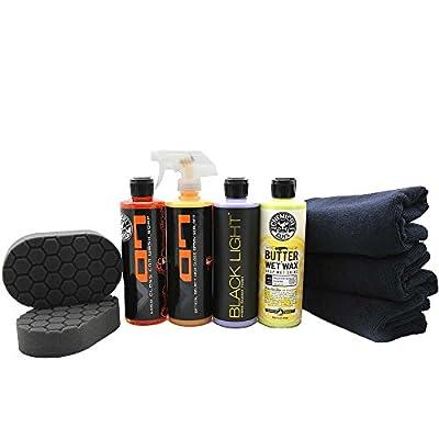 Chemical Guys HOL203 Black Car Care Kit (9 Items)