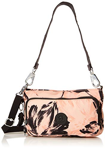 Kipling Myrte Handbag, Coral Flower