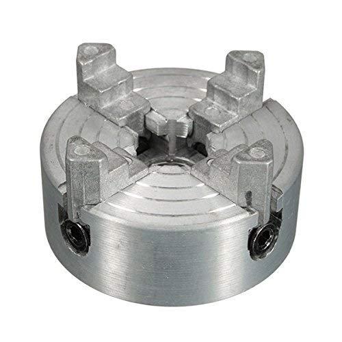 BJLWTQ 1.8-56Mm Mini Metal Torno 4 de mandíbula Plato de Torno de Accesorios