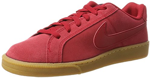 Nike Herren Court Royale Suede Sneaker, Rot (Gym Red/gym Red/port Wine/gum Lt Brown), 41 EU