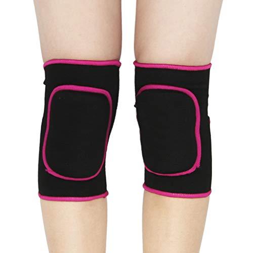 RUIXIB 1 Paar Baumwolle Kinder Knieschoner Mädchen Jungen Verdickt Schwamm Knieschutz Tanzen Volleyball Fußball Knieorthese Knee Pads