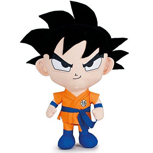 PBP Dragon Ball Super - Peluche Goku, capelli neri 22cm Qualità super soft