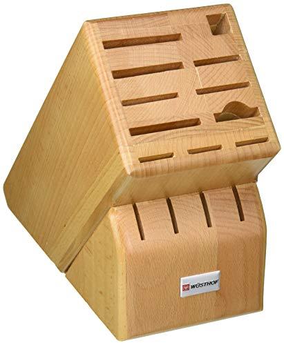 Wüsthof 2265-100 Block Knife Storage, Wood, Beige