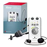 Bellman & Symfon Mino Personal Sound Amplifier with Microset & Neckloop to Pair with T-Coil Hearing Aids for Difficult Hearing Situations - Wireless and Discreet, Digital Audio, Easy to Use