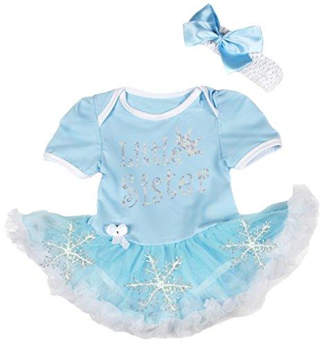 Petitebelle - Body - Bébé (fille) 0 à 24 mois bleu Light Blue, Silver - bleu - 120