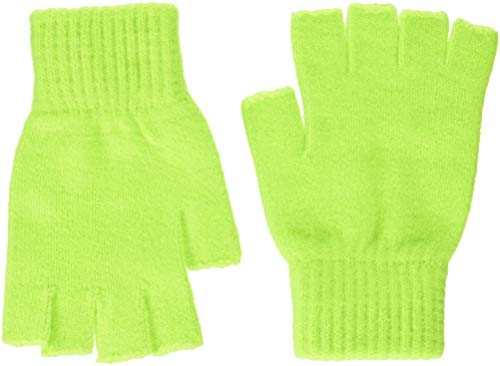 United Colors of Benetton Gloves Guantes, Amarillo fluo, 1 para Niños